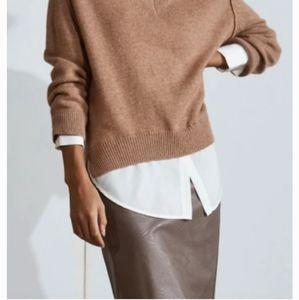 Danier 💯% Leather- Pencil Skirt